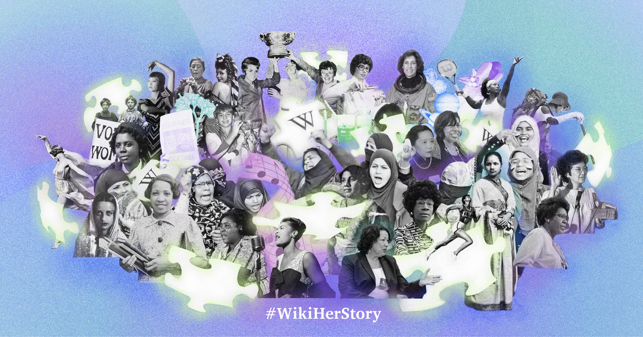 To celebrate Women's History Month, the Wikimedia Foundation has launched #WikiHerStory, an initiative to raise awareness and generate solutions for closing the gender gap on Wikipedia and other free knowledge projects.