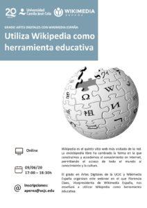 Utiliza Wikipedia como herramienta educativa @ online