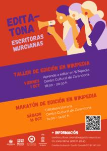 Taller de edición de Wikipedia @ Centro Cultural de Zarandona